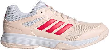 adidas Speedcourt Volleyballschuhe Damen rot