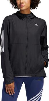 adidas Own The Run Hooded Windjacke Damen schwarz