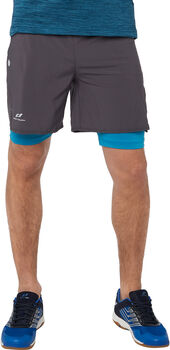 PRO TOUCH Striko 2-in-1 Shorts Herren grau