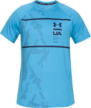 Under Armour MK1 SS Q Fitnessshirt Herren blau