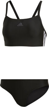 adidas 3-Streifen Bikini Damen schwarz