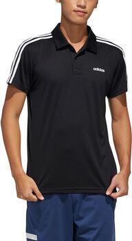 ADIDAS M D2M Cla 3-Streifen T-Shirt Herren schwarz