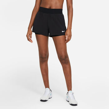 Nike Court Dri-FIT Victory Shorts Damen schwarz