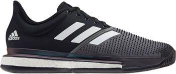 adidas Sole Court Primeblue Clay Tennisschuhe Herren schwarz