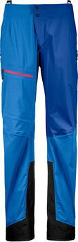 ORTOVOX 3L Ortler Hardshellhose Damen blau