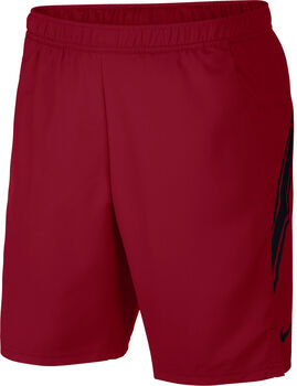 """Nike Court Dry 9"""" Tennisshort Herren rot"""