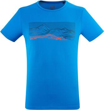 Millet Geo Mountain T-Shirt Herren blau