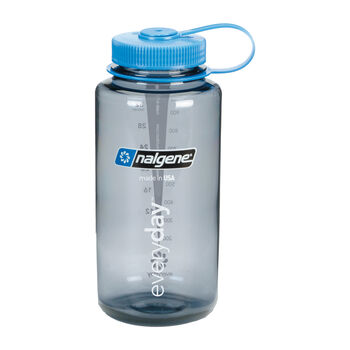 Nalgene Wide Mouth Trinkflasche grau