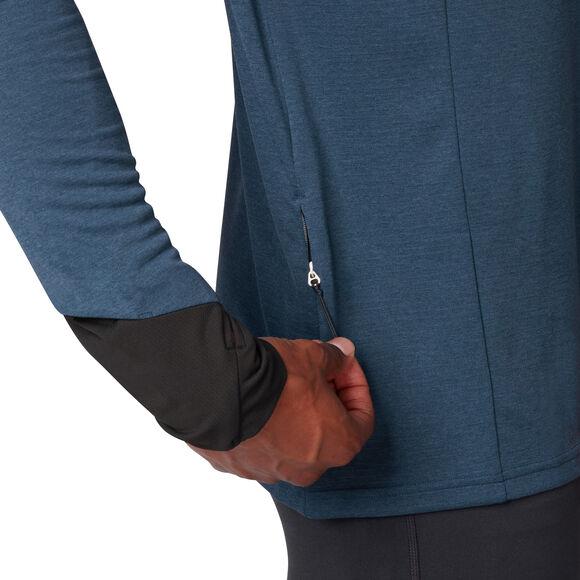 Weather T-Shirt mit Zipp