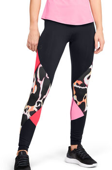 Under Armour WoRUSH™ Print Colour Block Tights Damen schwarz