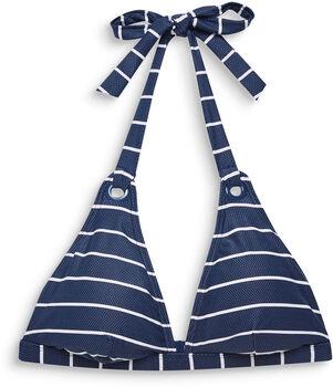 ESPRIT Padded Halterneck Damen blau