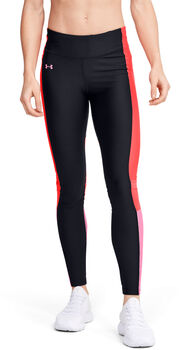Under Armour HeatGear® Armour Perf Inset Graphic Tights Damen schwarz