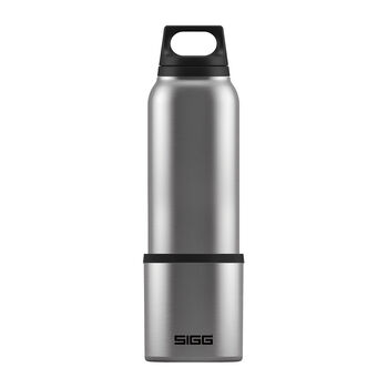 Sigg Hot & Cold Thermo Trinkflasche weiß