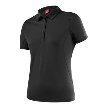 Löffler Da. Poloshirt Damen schwarz