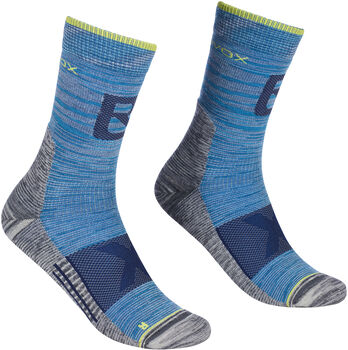 ORTOVOX Alpinist Pro Compr. Socken blau