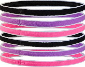 6er-Packung Mini Haarbänder