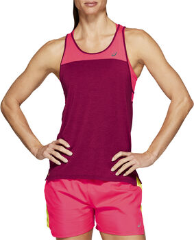 Asics LOOSE STRAPPY Tank Top Damen pink