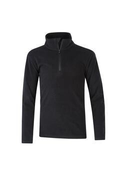 McKINLEY Cortina II Langarmshirt mit Halfzip schwarz