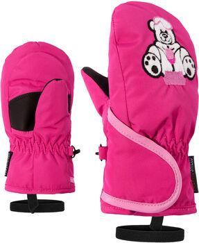 Ziener Lollo AS Fäustlinge pink