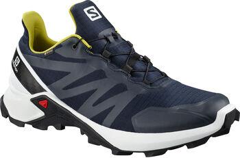 Salomon Supercross GORETEX Traillaufschuhe  Herren blau