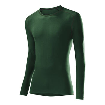LÖFFLER Langarmshirt TRANSTEX® Warm Herren grün