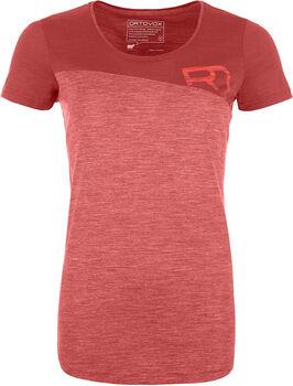 ORTOVOX 150 Cool Logo T-Shirt Damen rot