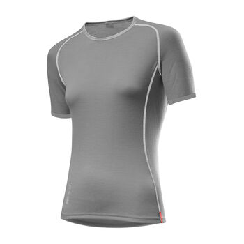 LÖFFLER Shirt TRANSTEX® MERINO Damen grau