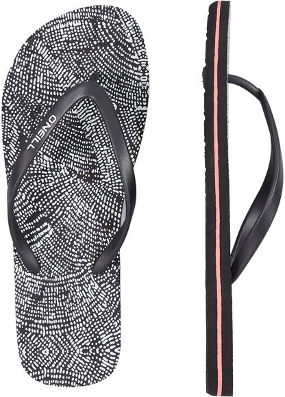 FW M&M Print Flip Flops