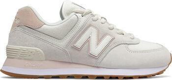 New Balance 574 Freizeitschuhe Damen weiß