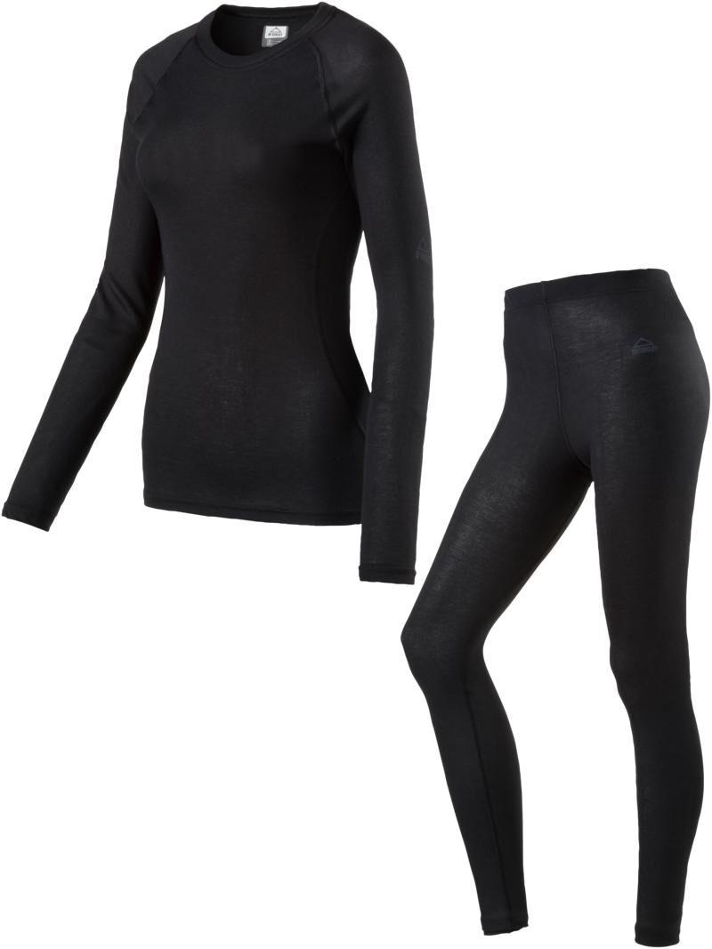 McKinley Damen lange Unterhose RINA schwarz