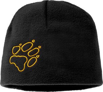 Jack Wolfskin Fleece Mütze schwarz