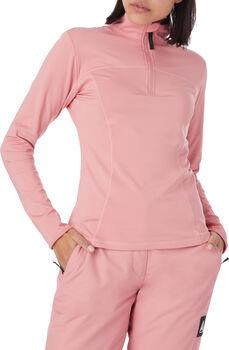 FIREFLY Slopestyle Aurora Langarmshirt mit Halfzipp Damen pink