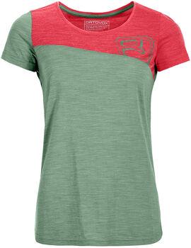 ORTOVOX 150 Cool Tec T-Shirt Damen grün