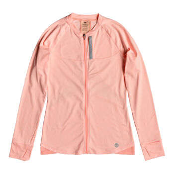Roxy Purple Sky 2 Fleece Trainingsjacke Damen orange