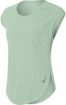 Nike City Sleek T-Shirt Damen grün