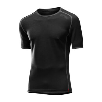 LÖFFLER TRANSTEX® MERINO T-Shirt Herren schwarz