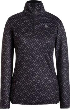 Luhta Estby Langarmshirt mit Halfzipp Damen schwarz