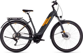 "CUBE Kathmandu Hybrid Pro 625 Trekkingbike 28"" grau"