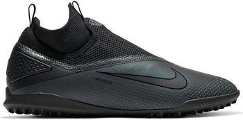 Nike React Phantom VSN 2 Pro Turffußballschuhe Herren schwarz