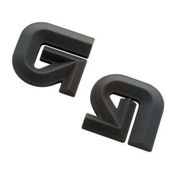 Burton Aluminum Logo Anti-Rutsch-Pad schwarz