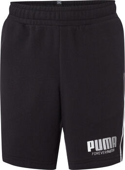 Puma Sweat Short Jungen schwarz