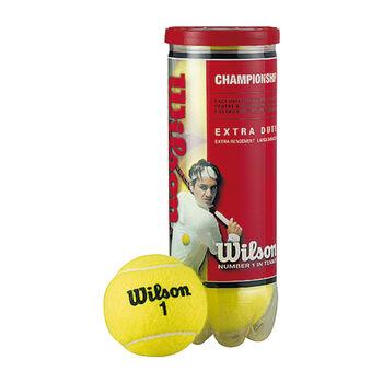 Wilson ship 3er Dose Tennisbälle weiß