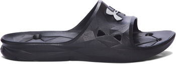 Under Armour Locker III SL Badeschuhe Herren schwarz