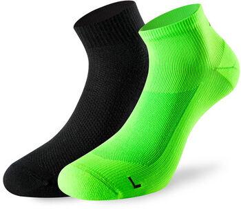 Lenz Running 3.0 2er-Pack Socken Herren grün