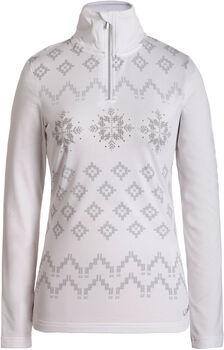 Luhta Ernholm Langarmshirt mit Halfzip Damen weiß