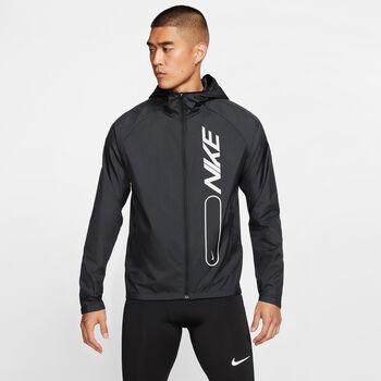 Nike Essential Flash Laufjacke Herren schwarz