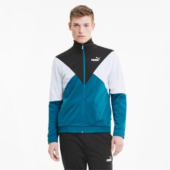 Puma CB Retro Track Suit Trainingsanzug Herren blau