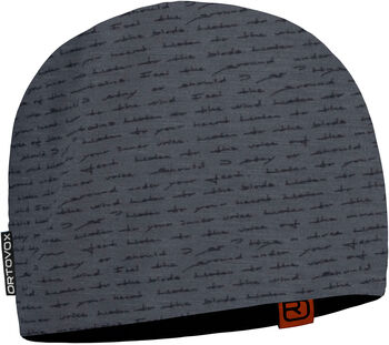 ORTOVOX 120 Tec Print Mütze schwarz