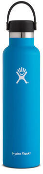 Hydro Flask Standard Mouth Isolierflasche blau