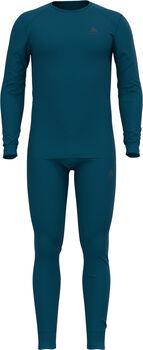 Odlo Active Warm Unterwäscheset Herren blau